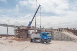 Cape Concrete precast bridge beams